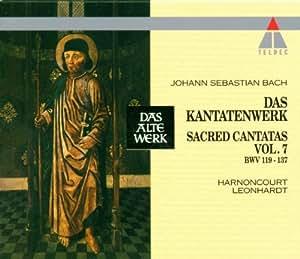 Cantates Sacrées,  Vol.7 : BWV 119 à 137