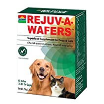 Sun Chlorella USA 60 Rejuva-A-Wafers, 72g/2.5 oz
