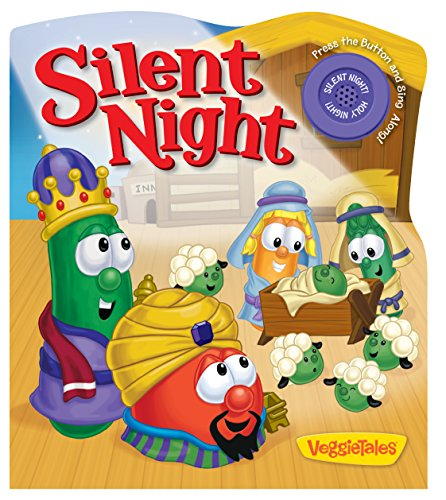 Silent Night (A Veggietales Book) back-575744