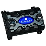Planet Audio PC10F 10 Farad Capacitor with Digital Voltage Display and Blue Illumination