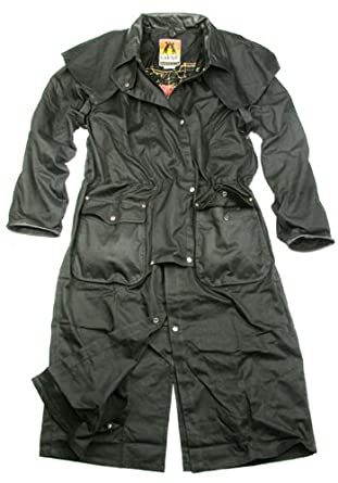 Kakadu Iron Coat, 2-in-1 MicroWax Oilskin Coat, 5O01