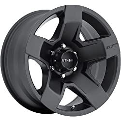 Method Fat Five 20 Black Wheel / Rim 8×6.5 with a 18mm Offset and a 131 Hub Bore. Partnumber MR30229080518