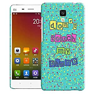 Theskinmantra Pattern 206 back cover for Xiaomi Mi 4