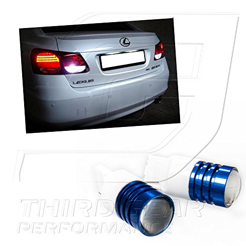 Tgp T20 High Power Super White Cree Chip 5W Q5 Projector Led Reverse Backup Light Bulbs 2008-2011 Subaru Impreza (Wagon Models Only)