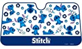 Stitch Front Window Sunshade Blue