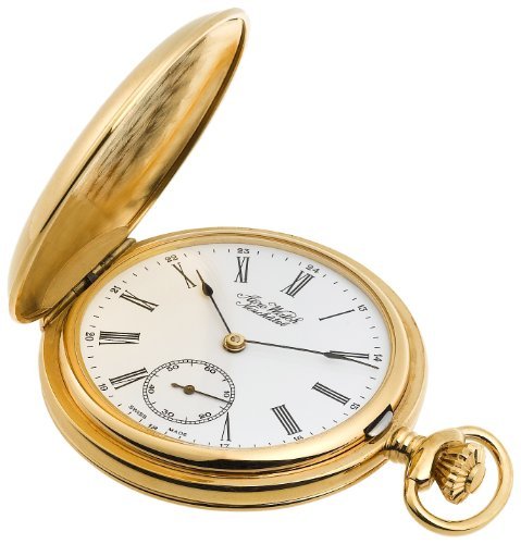 Aerowatch Men's 1086-B Mechanical Roman Dial Pocket Watch