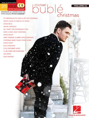 Michael Buble Christmas: ProVocal Songbook & 2 CDs For Male Singers Volume 62 (Hal Leonard Pro Vocal)