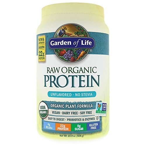 Garden of Life RAW Organic Protein Unflavored 20 oz (Raw Protein Beyond Organic compare prices)