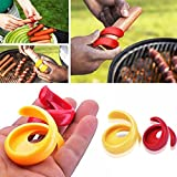 OPPOHERE Spiral Hot Dog Cutter Slicers Fancy Sausage Cutter Slice Your Wiener CN 1SET(2PCS)