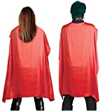 DELUXE BLACK SATIN CAPE IN VARIOUS LENGTHS FOR SUPER HERO VAMPIRE FANCY DRESS KIDS OR ADULTS