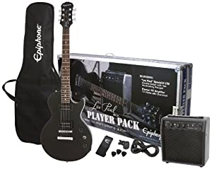 Epiphone Les Paul Special II Guitar Player Pack  - Ebony