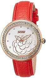 Skmei Analog Multi-Colour Dial Womens Watch - 9087RG