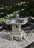 Antique Pagoda Statue Color: Graystone