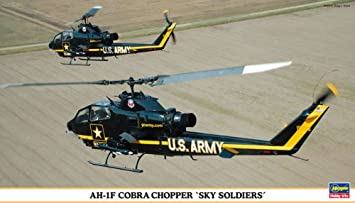 Maquettes hélicoptères: AH-1F Sky Soldiers: 2 kits