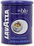 Lavazza in Blu Espresso Ground Coffee, 8.8-Ounce Tins (Pack of 4)