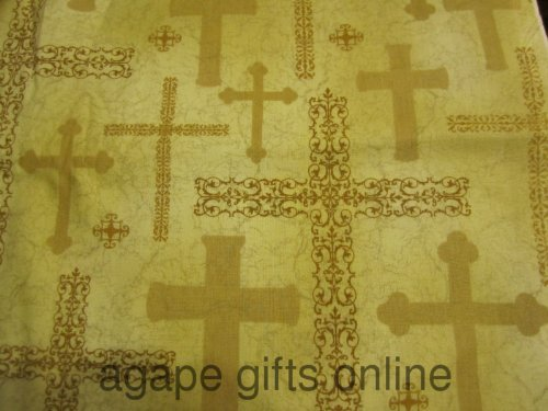 hl-brother-sister-design-cotton-quilt-fabric-multiple-gold-crosses-1-2-yd-by-sisters-and-brothers