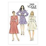 Vogue Patterns V9076A5 6/8/10/12/14 Misses Dress