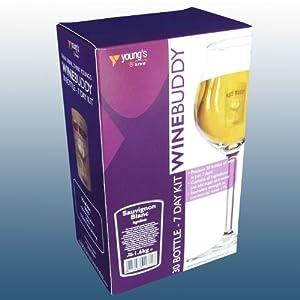 Home Brew & Wine Making - Winebuddy 30 Bottle White Wine Refill - Sauvignon Blanc Ingredient Kit