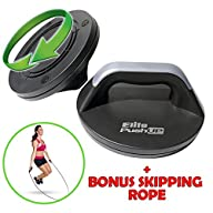 Elite Push Up with FREE Skipping Rope…