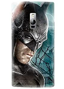 Spygen Premium Quality Designer Printed 3D Lightweight Slim Matte Finish Hard Case Back Cover For One Plus 2