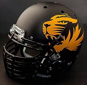 Amazon.com : MISSOURI TIGERS Football Helmet Nameplate ...
