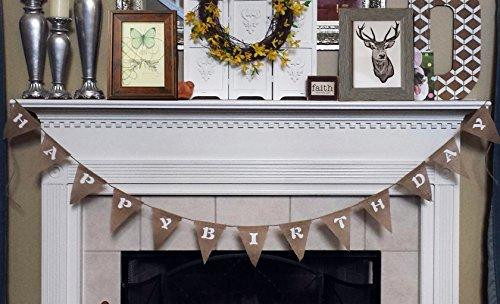 Langxun-Happy-Birthday-Burlap-Banner-Birthday-party-Decorations-Streamers