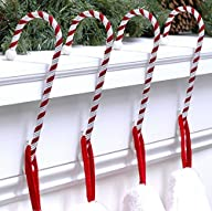 Haute Decor CC0402R Candy Cane Stocki…