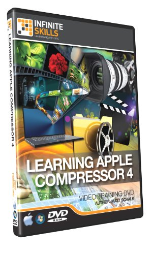 Infinite Skills Learning Apple Compressor 4 - Training DVD (PC/Mac)