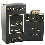 Bvlgari Man In Black by Bvlgari Eau De Parfum Spray 3.4 oz (Tamaño: 3.4 Ounces)
