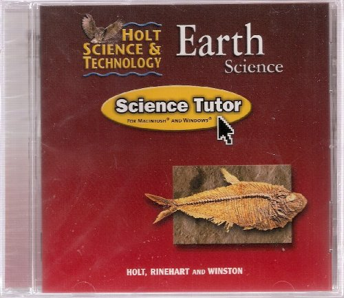 Holt Science & Technology: SCIENCE TUTOR Earth Science (Hs&T 2002)