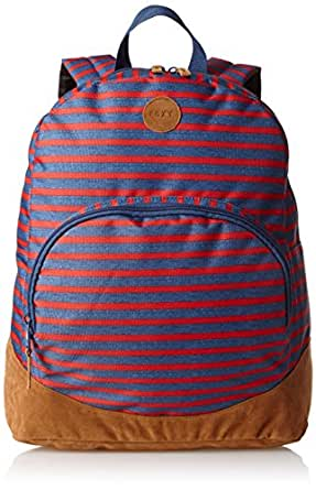 Roxy Juniors Fairness Backpack, Cliff Jump Stripe, One Size