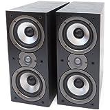 Polk Audio AM4095-A Monitor40 Series II Two-Way Bookshelf Loudspeaker (Black) Pair