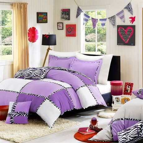 Mizone Layla Comforter And Decorative Pillows Set - Multi - Twin/Twin Xl front-209579