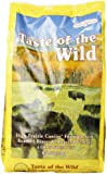 Taste of the Wild Dry Dog Food, High Prairie Canine Formula with Roasted Bison and Venison, 5 Pound Bag