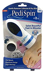 PediSpin Pedi Spin Ped Egg Electric Dry Hard Rough Skin Remover / Foot Care