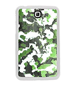 Army Fatigue Pattern 2D Hard Polycarbonate Designer Back Case Cover for Samsung Galaxy Tab 3 8.0 Wi-Fi T311/T315, Samsung Galaxy Tab 3 8.0 3G, Samsung Galaxy Tab 3 8.0 LTE