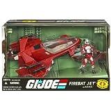 Hasbro - Figurine G.I. JOE véhicule: Firebat Jet & A.V.A.C.