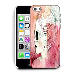 Snoogg White Lady Printed Protective Phone Back Case Cover For Apple Iphone 6 / 6S