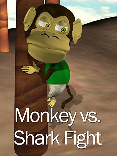 Monkey Shark Fight