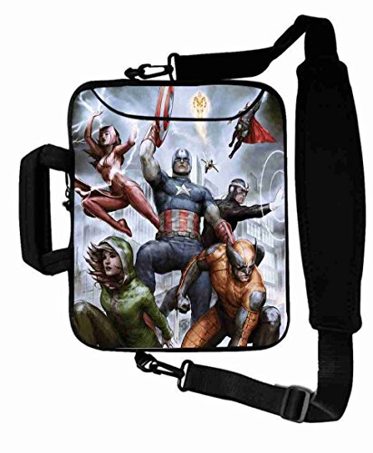 "Protection Customized Series the avengers movie Laptop Bag For Women's Gift (10 Inch) For 9.7""iPad Air 2-iPad 1 2 3 4 5-Samsung Galaxy Tab 3 S T700-Note 10.1-Tab PRO-Google Nexus 10 - CB-10-5601"