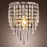 Lámpara de pared de Cristal SCHWALMSTADT