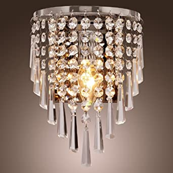 LightInTheBox® Modern/Contemporary Semi Circular Wall light Wall Washers in Crystal Feature