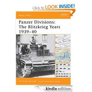 Panzer Divisions: The Blitzkrieg Years 1939-40 (Battle Orders) Pier Paolo Battistelli