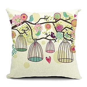 Bella copri cuscino cotone lino federa arredo casa per for Bella j cucina