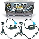 GENSSI 5000K LED Kit Headlight Conversion Kit CREE LED Bulbs HID Replacement (9004)