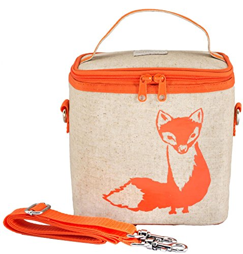SoYoung Orange Fox Insulated Small Cooler Bag (Orange Cooler Bag compare prices)