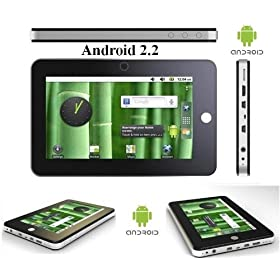 Swari 7 inch 4 GB Google Android OS 2.2 Internet Wifi Tablet with mini USB and HDMI connections