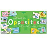 Eeboo Opposites Puzzle Pairs