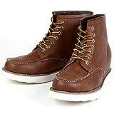 シークレット シークレットシューズ シークレットブーツ 9cmアップ メンズ 履くだけで背が高くなる靴 メンズブーツ ワークブーツ メンズシューズ インヒール kk5-500 ブラウン 26.0cm