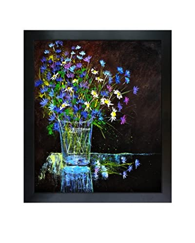 Pol Ledent Still Life 674160 Framed Canvas Print